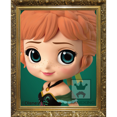Q posket Disney Characters -Anna Coronation Style-