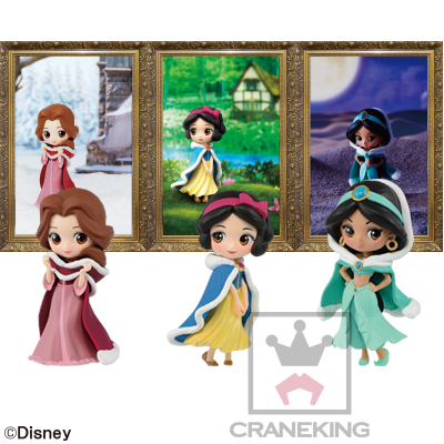 Disney Characters Q posket petit-Winter Costume-
