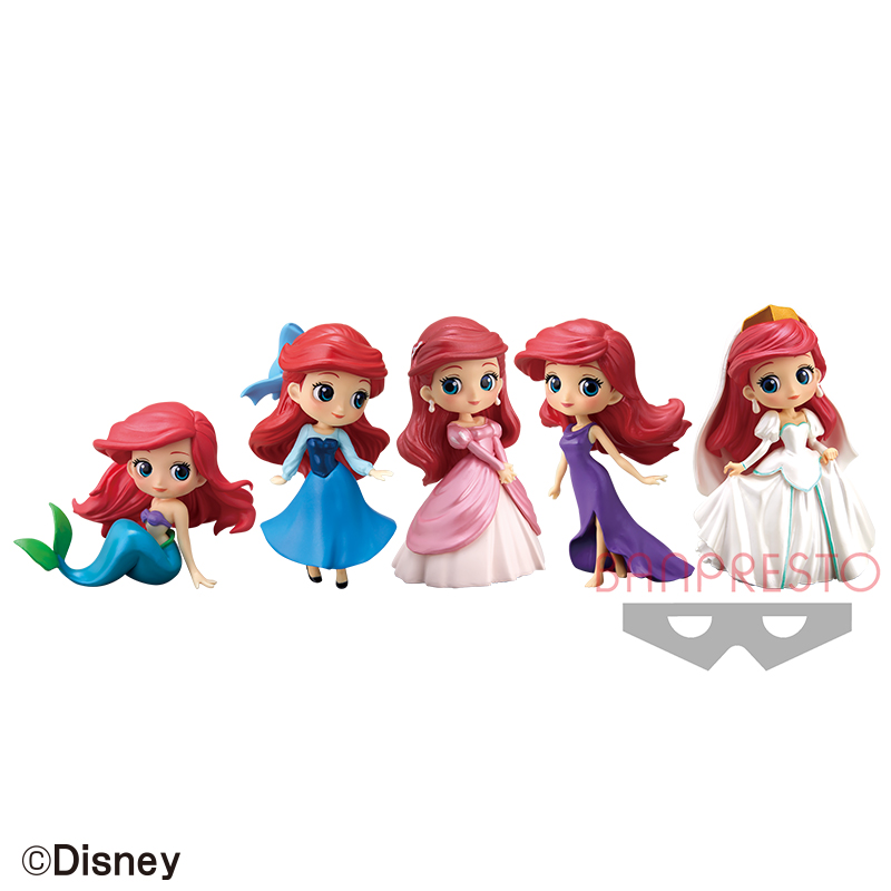 Disney Character Q posket petit -Story of The Little Mermaid-